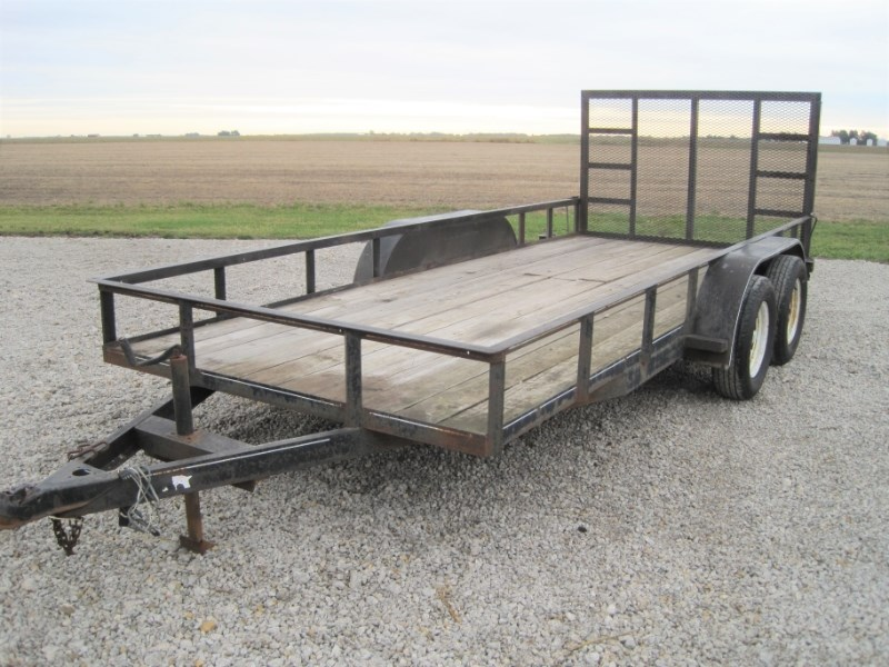 2005 Bilt Rite 7000 Utility Trailer For Sale