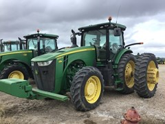 Tractor - Row Crop For Sale 2015 John Deere 8345R , 345 HP