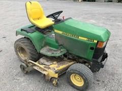 Riding Mower For Sale:  1997 John Deere 455 , 22 HP