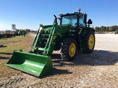 Tractor For Sale 2018 John Deere 6155R , 155 HP