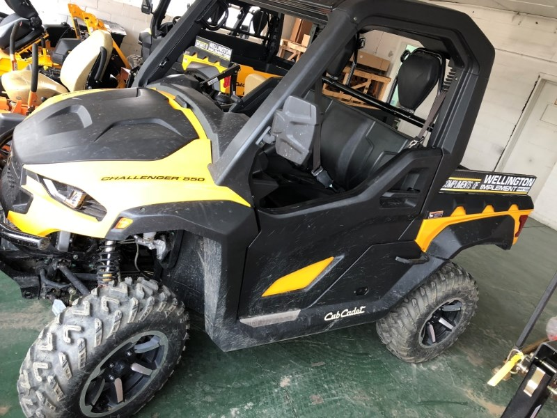 2018 Cub Cadet Challenger CX550 Yellow Utility Vehicle For Sale