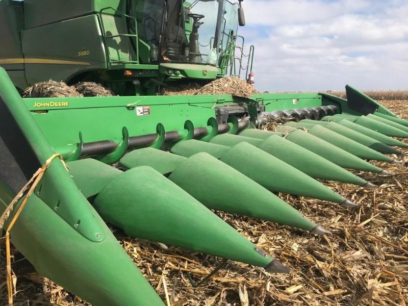 2000 John Deere 1293 Header-Corn For Sale