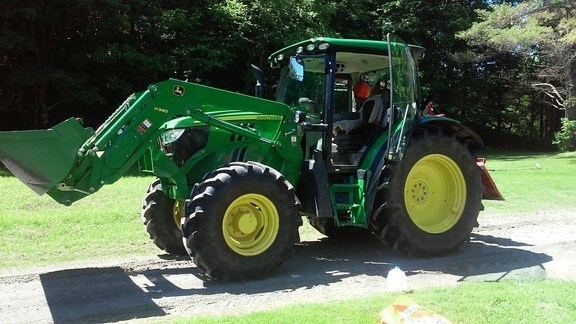 2014 John Deere 6105R Tractor For Sale
