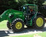 Tractor For Sale: 2014 John Deere 6105R