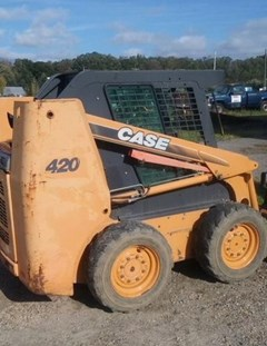 Skid Steer For Sale 2007 Case 420 , 51 HP