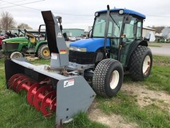 Tractor - Utility For Sale 2000 New Holland TN75D , 66 HP
