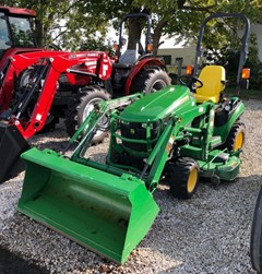 Tractor - Compact For Sale 2016 John Deere 1025R , 24 HP
