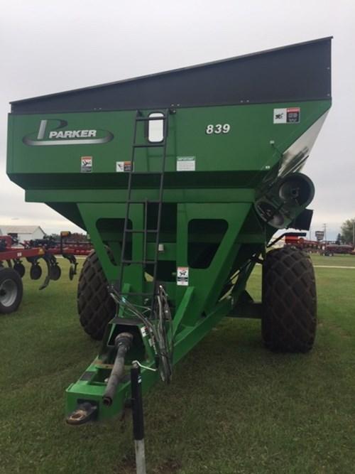 Grain Cart For Sale:  Parker 839