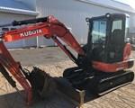 Excavator-Mini For Sale: 2015 Kubota KX0404R3TP, 40 HP
