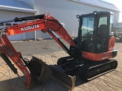 Excavator-Mini For Sale 2015 Kubota KX0404R3TP , 40 HP