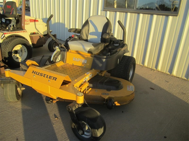 2016 Hustler RAPTOR SD 60 Zero Turn Mower For Sale