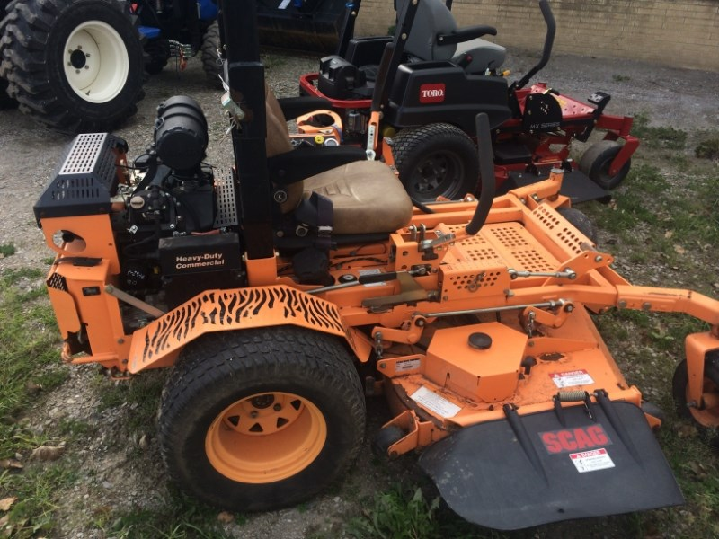 2012 Scag STT61V-29CH Zero Turn Mower For Sale