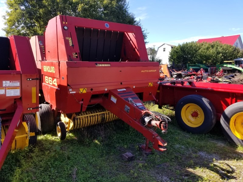 1997 New Holland 664 Baler-Round For Sale