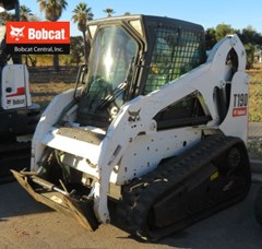Skid Steer-Track For Sale:  2011 Bobcat T190 , 66 HP