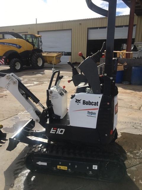 Bobcat E10 T4 Excavator-Track