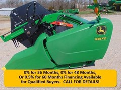 Header-Draper/Flex For Sale 2017 John Deere 635FD