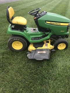 Riding Mower For Sale 2009 John Deere X340 , 25 HP