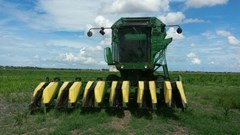 Cotton Stripper For Sale 1988 John Deere 7445