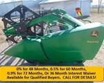 Header-Draper/Flex For Sale: 2012 John Deere 640FD