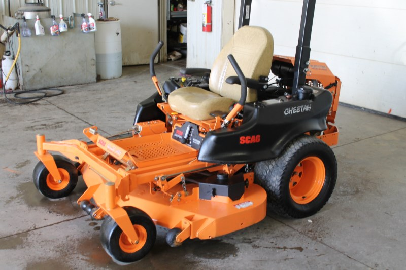 2016 Scag SCZ61V-29CV-EFI Zero Turn Mower For Sale