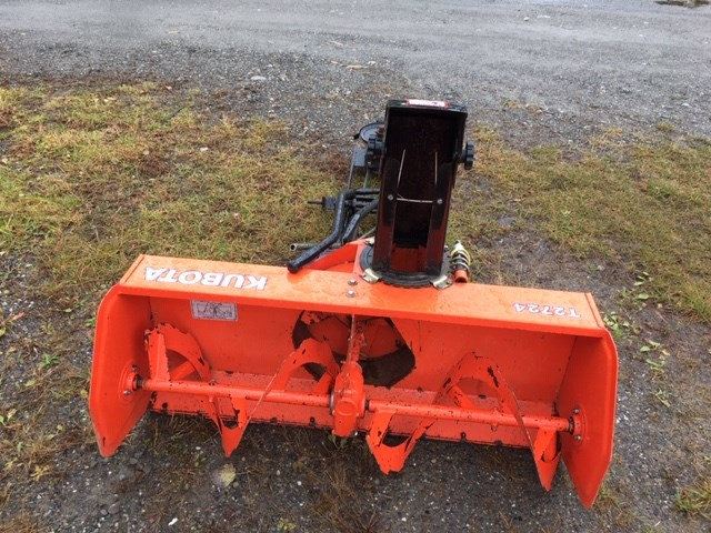 Kubota T2724 Snow Blower For Sale