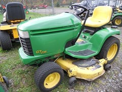 Riding Mower For Sale 2002 John Deere GT235 , 18 HP
