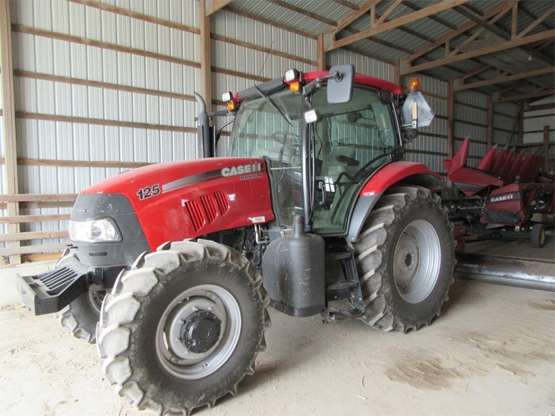 2011 Case IH MAXXUM 125 Tractor For Sale