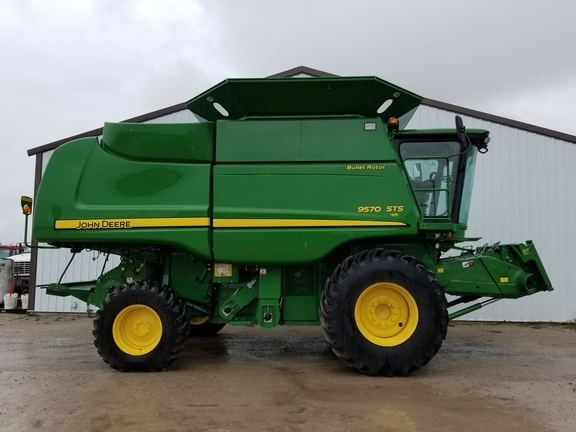 2011 John Deere 9570 STS Combine For Sale