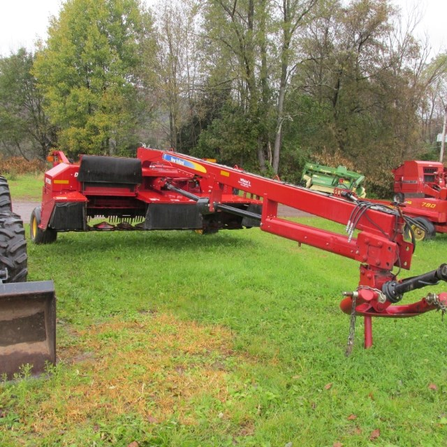 2012 New Holland H7550 Disc Mower For Sale » Whites Farm