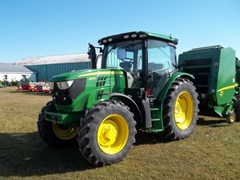 Tractor - Utility For Sale 2015 John Deere 6125R , 125 HP