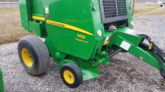 Photos of 2013 John Deere 459 Silage Special Baler-Round For