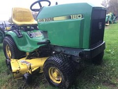 Riding Mower For Sale 1986 John Deere 180 , 17 HP