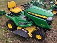 Riding Mower For Sale:  2017 John Deere X330 , 18 HP