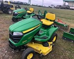 Riding Mower For Sale: 2017 John Deere X350, 18 HP