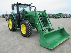 Tractor For Sale 2016 John Deere 6145R , 145 HP