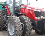 Tractor For Sale: 2010 Massey Ferguson 8670 MFD, 290 HP
