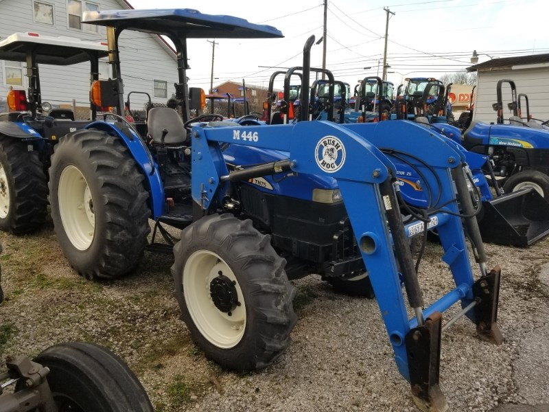 2003 New Holland TN75 MFD LDR Tractor For Sale