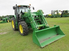 Tractor - Utility For Sale 2018 John Deere 6120M