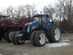 Tractor For Sale 2008 New Holland T8040
