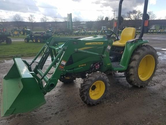 2017 John Deere 3038E Tractor For Sale