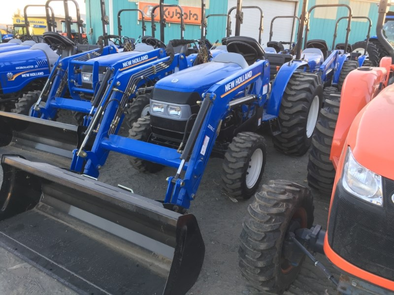 2018 New Holland WorkMaster 25 Tractor - Compact For Sale