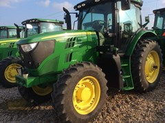 Tractor - Row Crop For Sale 2016 John Deere 6145R , 145 HP