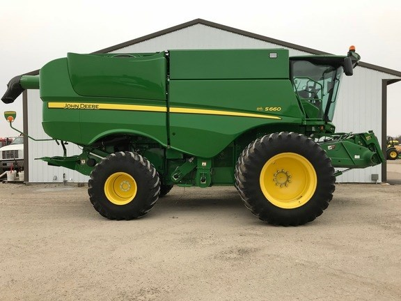 2012 John Deere S660 Combine For Sale