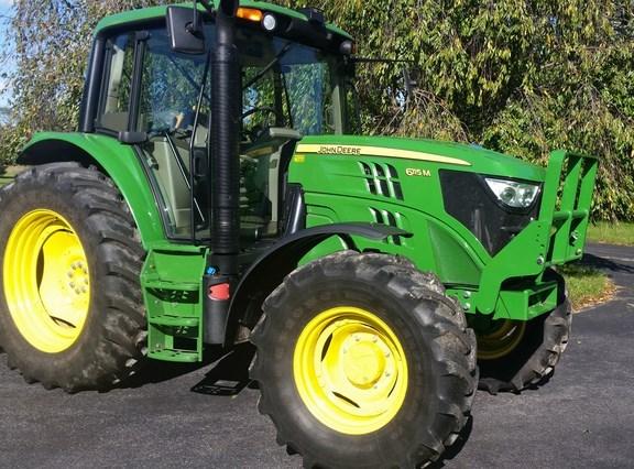 2014 John Deere 6115M Tractor For Sale