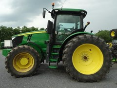 Tractor - Row Crop For Sale 2015 John Deere 7290R , 290 HP