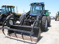 Tractor For Sale 2009 New Holland TV6070 , 155 HP