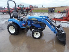 Tractor For Sale 2012 New Holland Boomer 25 , 27 HP