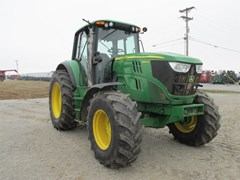 Tractor For Sale 2015 John Deere 6140M , 115 HP