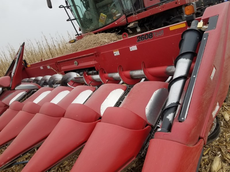 2013 Case IH 2608 Header-Corn For Sale