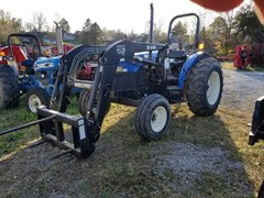Tractor For Sale 2002 New Holland TN55 LDR , 46 HP